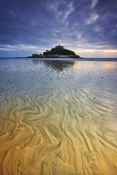 St Michael's Mount, Marazion, near Penzance. Cross the causeway at low tide and explore the castle and its beautiful gardens. Saint Michael, St Micheal, Devon And Cornwall, Cornwall England, Beautiful World, Beautiful Places, Beautiful Gardens, The Places Youll Go, Places To See