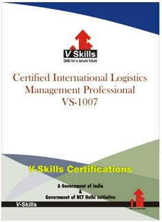 Vskills offering certification in International Logistics for more details on the certification you can check the link below: http://www.vskills.in/certification/Certified-International-Logistics-Management-Professional