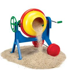 Durable Gear Driven Cement Mixer for Pretend Construction Fun *** This is an Amazon Affiliate link. Click on the image for additional details.