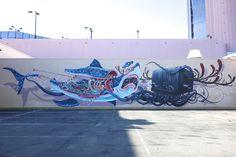 Jeff Soto x Nychos – New Mural at Hawaii POW WOW 2013 | Providermag