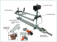 iv mill kit alaskan chainsaw plans 1