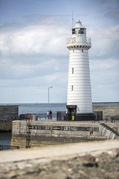 Donaghadee lighthouse, County Down, Northern Ireland.