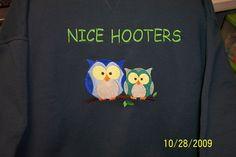Nice Hooters Sweatshirt