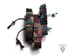 Hey, I found this really awesome Etsy listing at https://www.etsy.com/listing/516668845/patchwork-macrame-bracelet