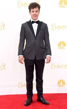 Nolan Gould from 2014 Emmys: Red Carpet Arrivals | E! Online. The kid is BRILLIANT. Hes been in mensa since the age of four. So hes an actual genius too.