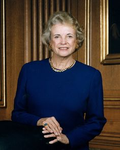 Justice Sandra Day O'Connor - former GS