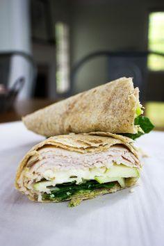 Green Apple & Brie Turkey Wrap recipe on The Nashvillian