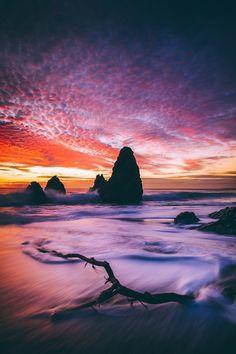"lsleofskye: ""Marin Headlands - Rodeo Beach """