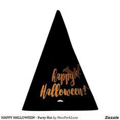HAPPY HALLOWEEN - Party Hat