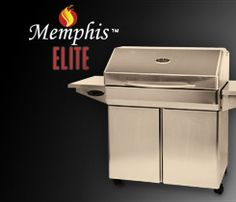Memphis Elite Grill Made in USA. Intelligent Temperature Control (ITC) with Auto Start. Simply press ON, set the desired temperature from 180 to 700 degrees, relax, and leave the work to your Advantage Elite. #madeinusa
