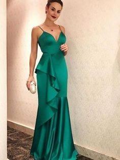 Cheap Prom Dresses, Mermaid Prom Dresses,Long Prom Dresses on Sale- Straps Prom Dresses, Mermaid Prom Dresses, Cheap Prom Dresses, Formal Dresses, Dress Prom, Party Dresses, Evening Party Gowns, Evening Dresses, Maxi Robes