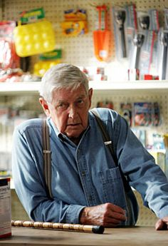 Ralph Waite - NCIS - Jackson Gibbs.  Wonder if he ever head slapped Leroy Jethro Gibbs.