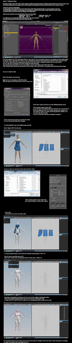 MD2 and DAZ Studio: Creating your Avatar by *dylazuna on deviantART