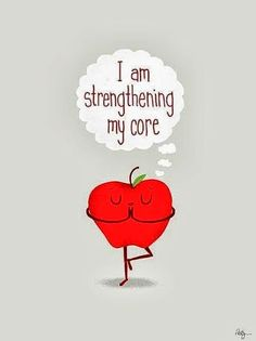 Apple Humor   I'm strengthening my core   From Funny Technology - Community - Google+