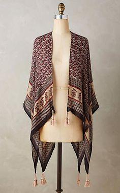Damini Kimono Scarf #anthrofave