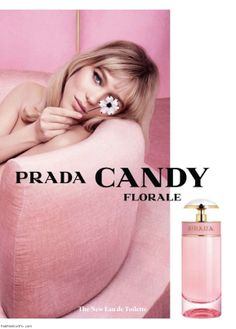 "Lea Seydoux for Prada ""Candy Florale"" Fragrance"