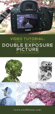 Video Tutorial – How to Make a Double Exposure Picture in Photoshop Photoshop Fail, Basic Photoshop Tutorials, Photoshop Photos, Editing Pictures, Photo Editing, Advanced Photoshop, Photoshop Website, Ps Tutorials, Photoshop Youtube