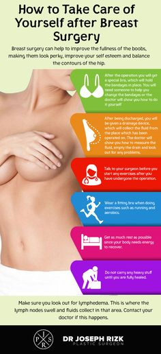 With the help of one may get the natural shape of boobs. However, after the surgery is done, one has to take proper precautions for early recovery. Go through this info-graphic and check out how to take care of yourself after the surgery. Implant, Lip Augmentation, Massage, Mommy Makeover, Operation, Surgery Recovery, Liposuction, Rhinoplasty, Plastic Surgery