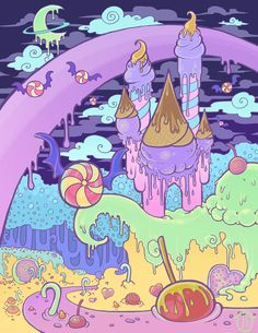 Melty Moon Kingdom by raevynewings