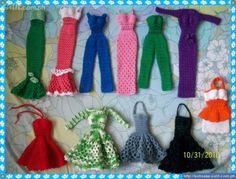 Crochet Barbie Clothes to Make | How to Make Free Barbie Crocheted Clothes | eHow.com