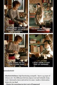 Wow Sherlock