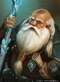 Dwarf Mage Fantasy Art