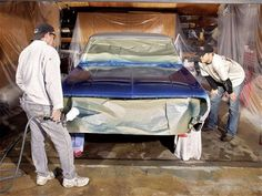 Paint Your Car at Home - Car Craft Magazine