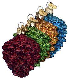 Brilliant Pine Cone #12680 Merck Old World Ornament