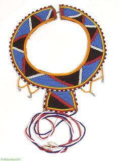 Maasai Beaded Collar Necklace Kenya