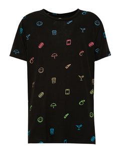 SHORT-SLEEVE T-SHIRT WITH AN ALLOVER PRINT T-SHIRTS - MAN PULL&BEAR; Spain
