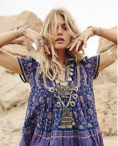 The Stylish Gypsy ...There are soooo many reasons to love purple! And here's another! I think purple is the most bohemian of all colours.