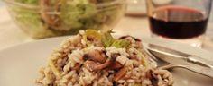 RISOTTO DE COGUMELOS E ESPARGOS => http://www.receitasdept.com/categoria/legumes/