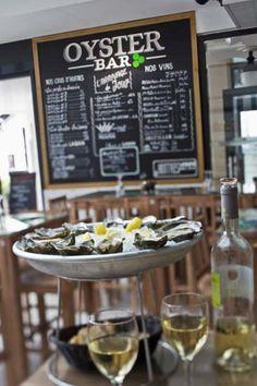 Oyster Bar - Huîtres Laban, restaurant Arcachon - les huîtres de Sandrine | Restaurants #raw #oysters #restaurant