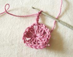 Crochet granny square tutorial - 9