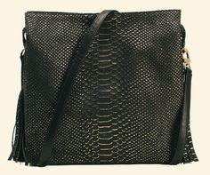 My Sidekick Satchel in Black Gold Cobra -- preorder yours now at >>>WWW.KELLYWYNNE.COM<<< #daretobefabulous xo