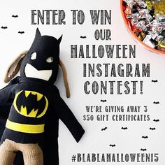Halloween is around the corner, and we want to see your Blabla inspired costumes on YOU or dress up your favorite Blabla doll!