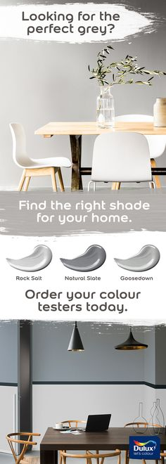 Find more grey shades & get a Colour Tester for only £1.56 (Free P&P)