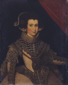 Spanish School. Portrait of an Unknown Lady at the Court of Philip IV of Spain, 17th century