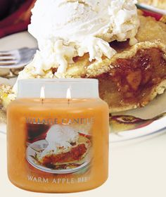 Warm Apple Pie-Premium Round - Sweet and tart apples, and baked vanilla with notes of cinnamon and cloves