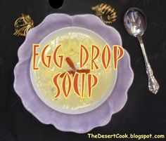 You can make Egg Drop Soup at home in 5 minutes.  Get the recipe!