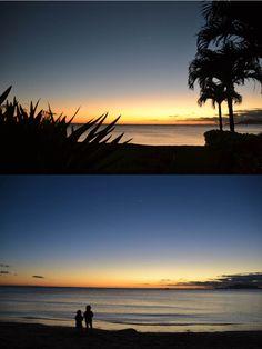 いつものビーチで、「一番星み~つけた」 来週から学校、早く始まらないかな?お友達や先生にもそろそろ会いたくなってきた様子。  「今日も楽しい一日をありがとう♪」 そろそろ、生活を立て直して通常に戻らないとだめだね・・・  Mama ❤ S