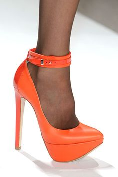 thank you @meredya for the @ruthie_davis #shoeporn - stunning #dennisbasso #mbfw