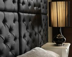 Chesterfield-Style Padded Wall Panels from Dreamwall