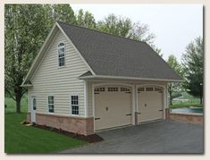 Best Home With Detached Garage House Has Curved Pergola 400 x 300