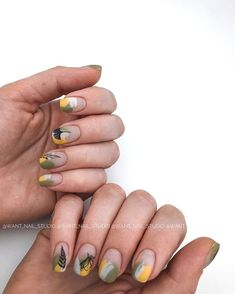 The Best Nail Art Designs – Your Beautiful Nails Cute Nails, Pretty Nails, My Nails, Simple Nail Art Designs, Gel Nail Designs, Uñas Art Deco, Nail Manicure, Nail Polish, Acryl Nails