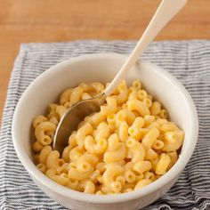 How To Make One-Bowl Microwave Mac and Cheese - Recipe