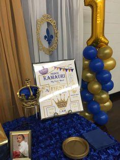 Prince Kamauri 1st Birthday | CatchMyParty.com