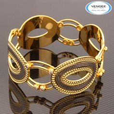 Hot Fashion Dancing CZ Diamond Bangle 7509 - Online Shopping for Bracelets n Bangles by Vendee Fashion