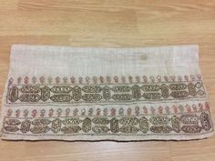 ottoman embroidery great towel