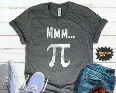Pi Shirt, Love Shirt, Funny Math, Math Humor, Boss Shirts, Shirt Sale, Couple Shirts, Matching Outfits, Funny Tshirts